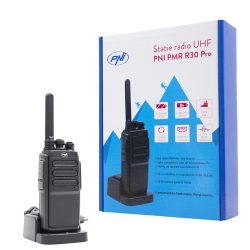 PNI UHF rádió adó/készlet, akkumulátorral, 10km hatótáv (PNI-R30-PRO)