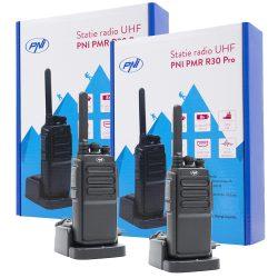 PNI 2db-os UHF rádió adó/készlet, akkumulátorral, 10km hatótáv (PNI-R30-PRO2)
