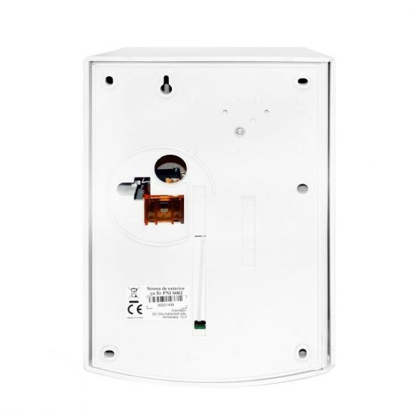 PNI Vezetékes kültéri hang és fényjelző +akkumulátor (PNI-S002)