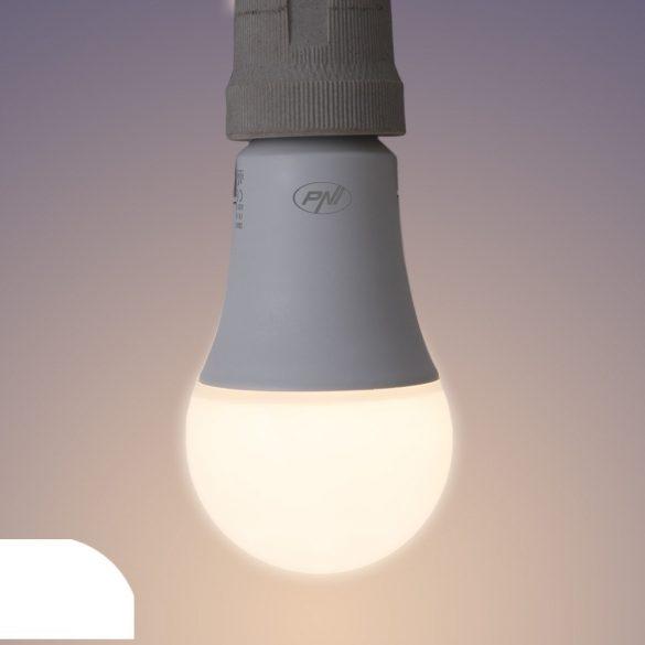 PNI WiFi-s LED izzó, 9W, E27, 2700-6500K változtatható színhőmérséklet (PNI-SB9W)