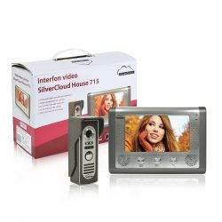 SilverCloud Vezetékes videó kaputelefon monitorral (PNI-SC715)