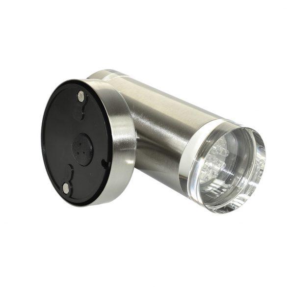 SilverCloud Rozsdamentes inox fali LED lámpa, 5W (PNI-SCDLW32)