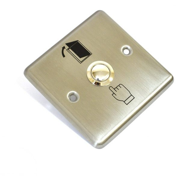 SilverCloud Fém nyitógomb, kilépőgomb (PNI-SCPB202)