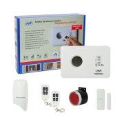 PNI Vezeték nélküli GSM riasztórendszer, 2 érzékelővel, szirénával (PNI-SHPG300)