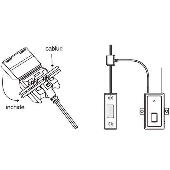 PNI Ajtózár/garázskapu vezérlő, okosotthon rendszerhez (PNI-SM433)
