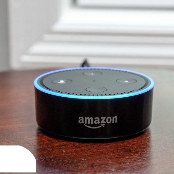 Amazon Echo Dot, hangvezérelt, Multiroom, hangszóró (PNI-SPEDOTBL)