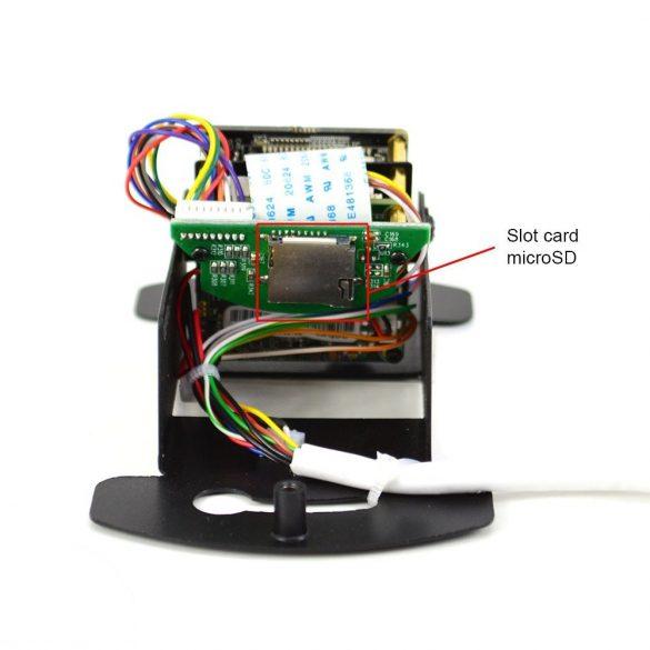 PNI 2.0Mp-es füstérzékelőbe rejtett, IP kamera, microSD foglalattal, -26C°-ig (PNI-SS2MPX)