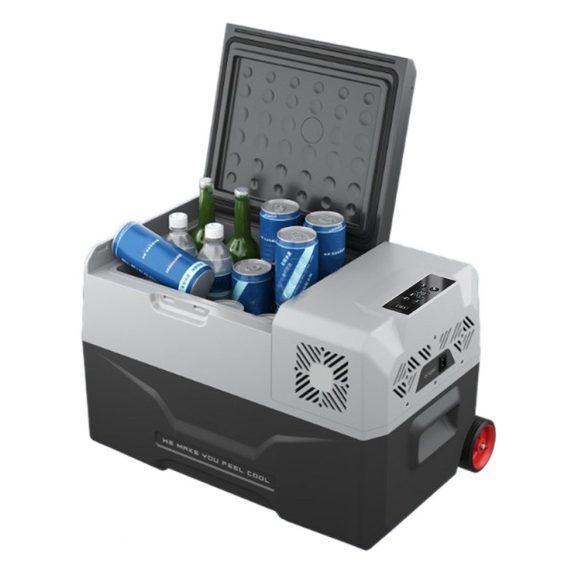 PNI Hordozható hűtő - fagyasztó, beépített kompresszorral, 12/24/230V (PNI-SUMP40)