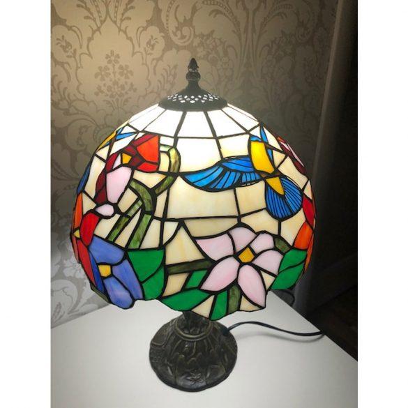SilverCloud Ólomüveg asztali dekorlámpa (PNI-TIFF20)