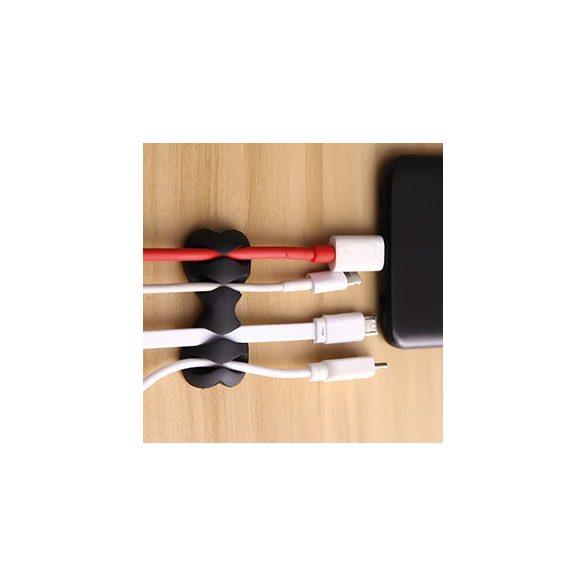 PNI Szilikon kábelrendező gumi, öntapadós felülettel (PNI-TYCLIP-02)