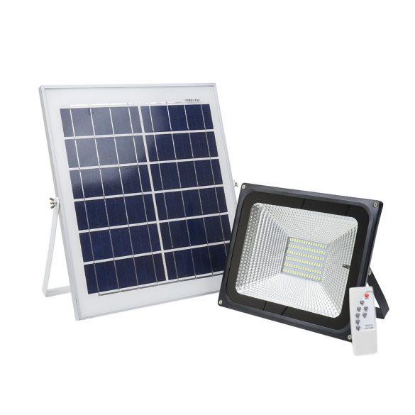 PNI Hordozható 50W-os, napelemes, távirányítható, akkumulátoros LED reflektor (PNI-WS55)
